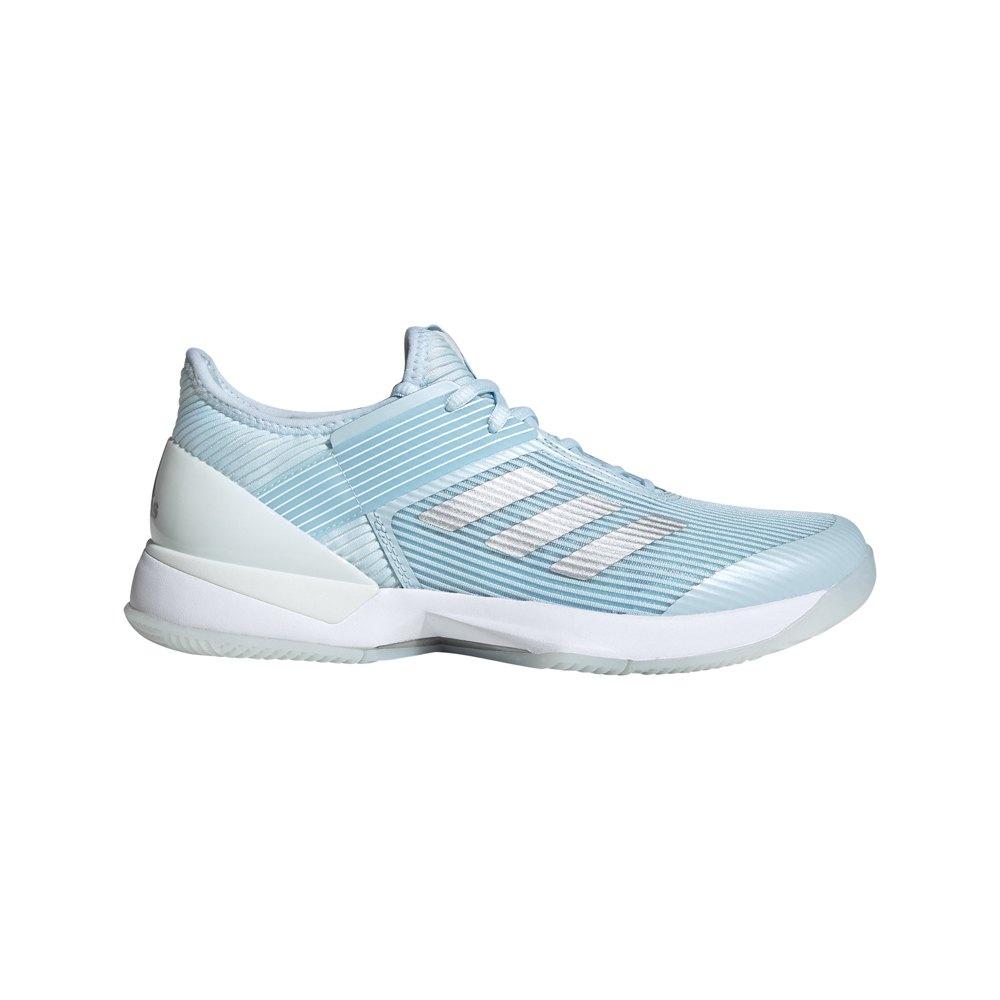 Adidas Adizero Ubersonic 3 EU 38 2/3 Sky Tint / Silver Metalic / Ftwr White