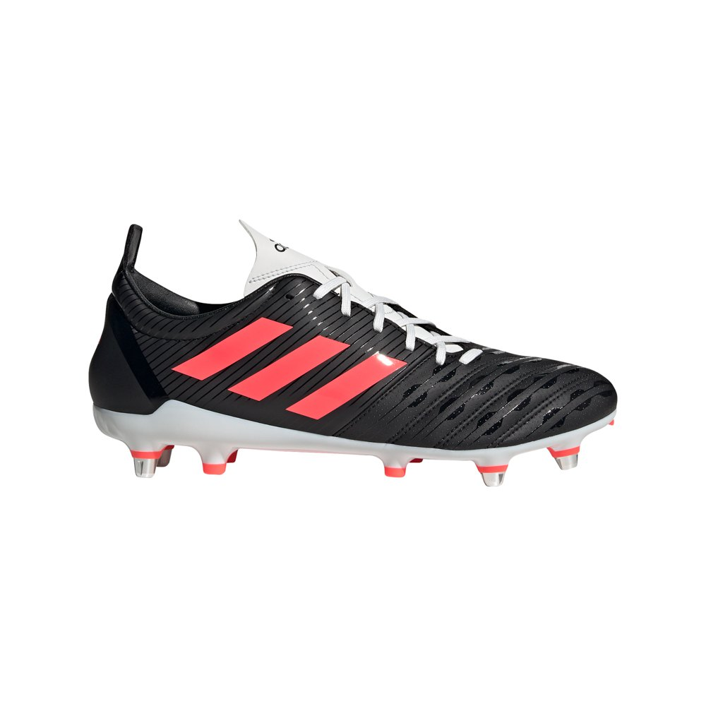 Adidas Malice Sg Rugby Boots EU 43 1/3 Core Black / Signal Pink / Crystal White