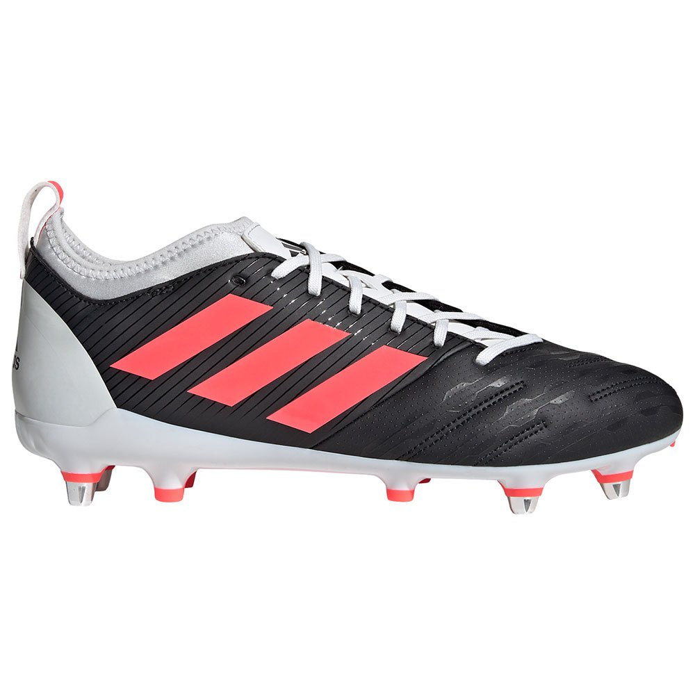 Adidas Malice Elite Sg Rugby Boots EU 42 2/3 Core Black / Signal Pink / Crystal White