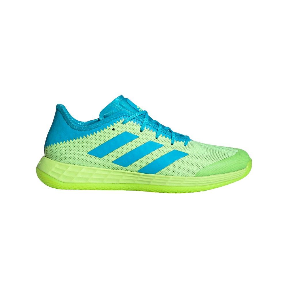 Adidas Badminton Adizero Fastcourt EU 41 1/3 Signal Green / Signal Cyan / Ftwr White