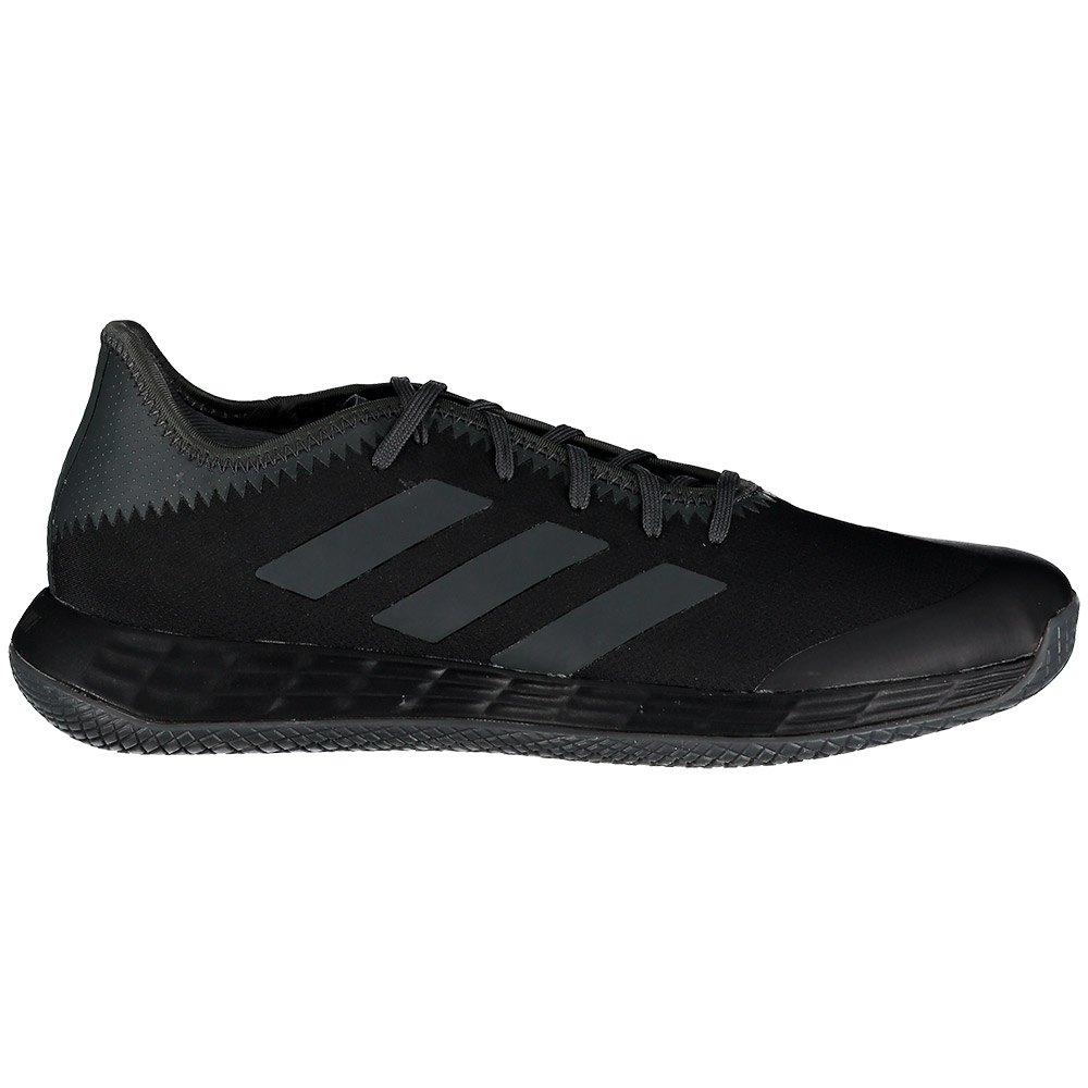 Adidas Badminton Adizero Fastcourt EU 45 1/3 Core Black / Grey Six / Solar Gold