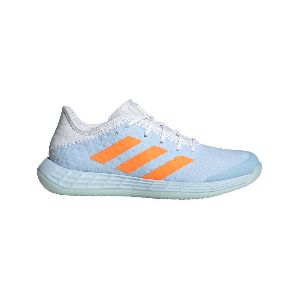 Adidas Badminton Adizero Fastcourt EU 40 Sky Tint / Ftwr White / Signal Orange