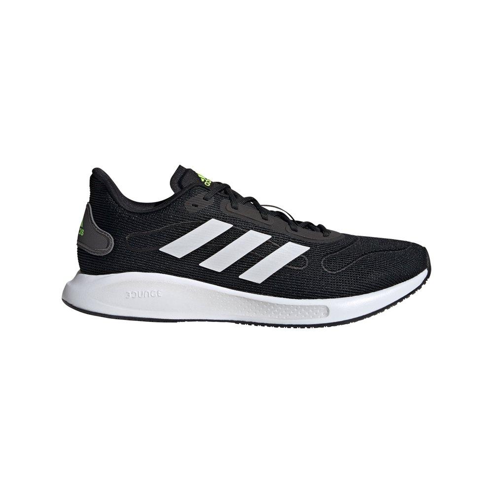 Adidas Galaxar Run EU 42 2/3 Core Black / Ftwr White / Signal Green