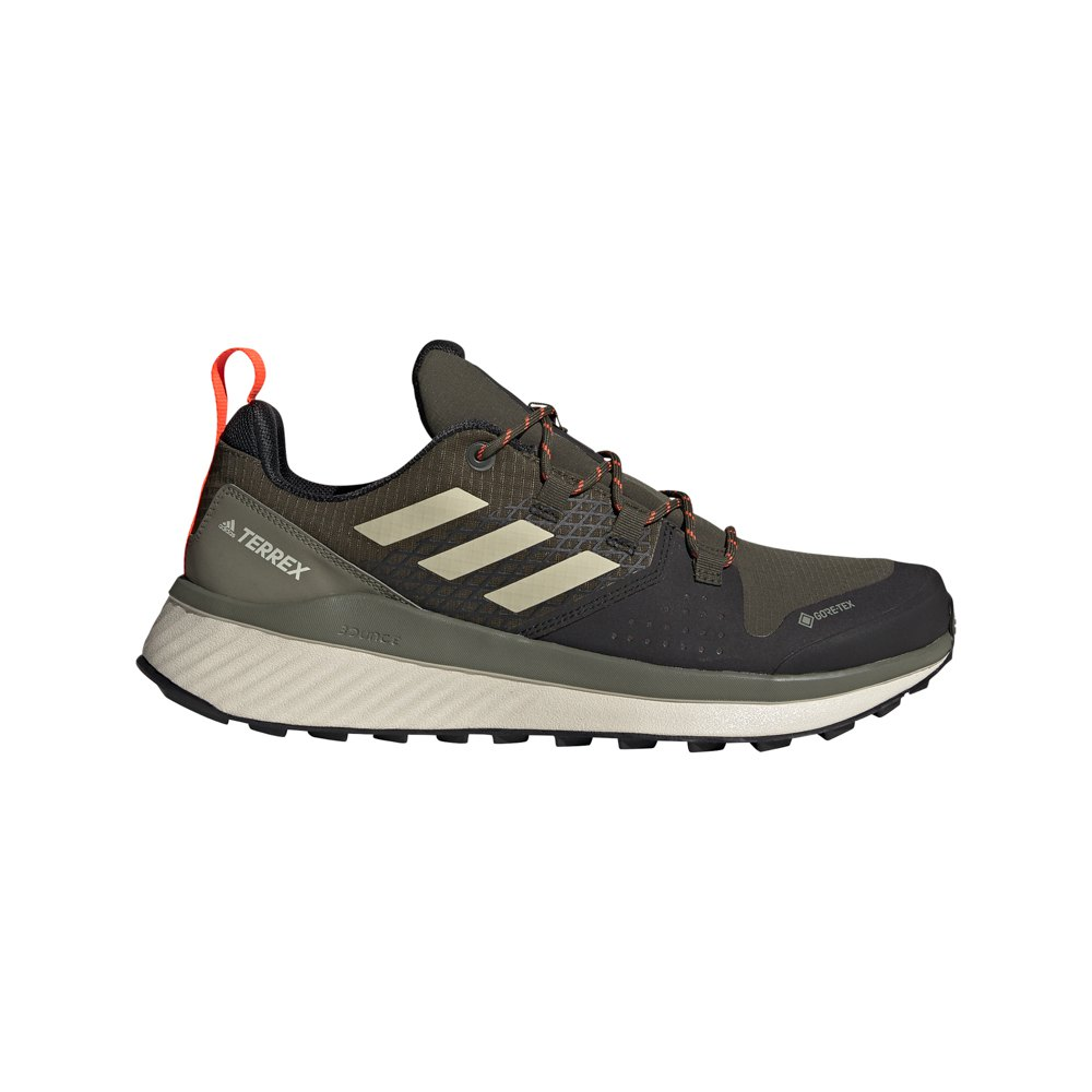 Adidas Terrex Folgian Hiker Goretex EU 48 Feather Grey / Savannah / Solar Red