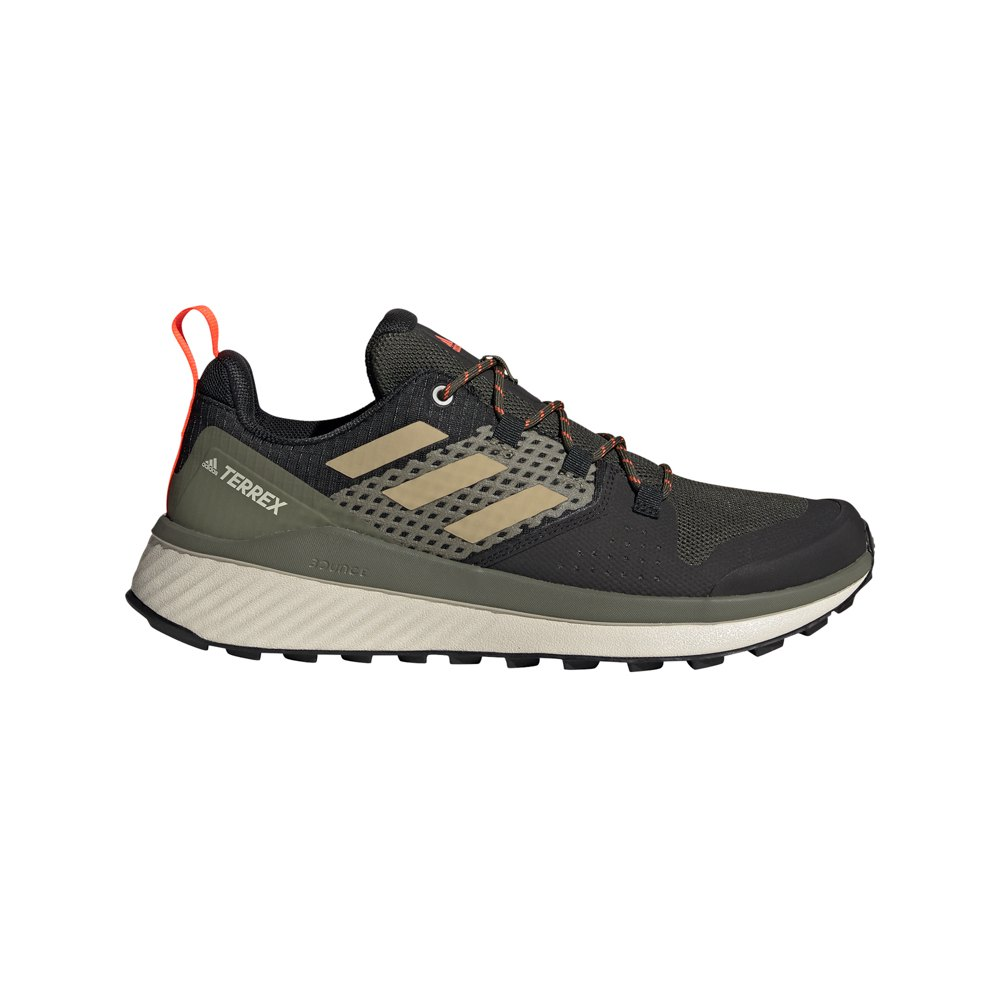 Adidas Terrex Folgian Hiker EU 45 1/3 Feather Grey / Savannah / Solar Red