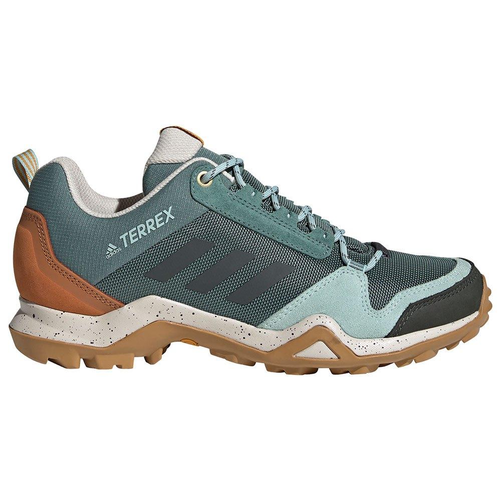 Adidas Terrex Ax3 Blue EU 40 2/3 Tech Emerald / Legend Earth / Legacy Gold