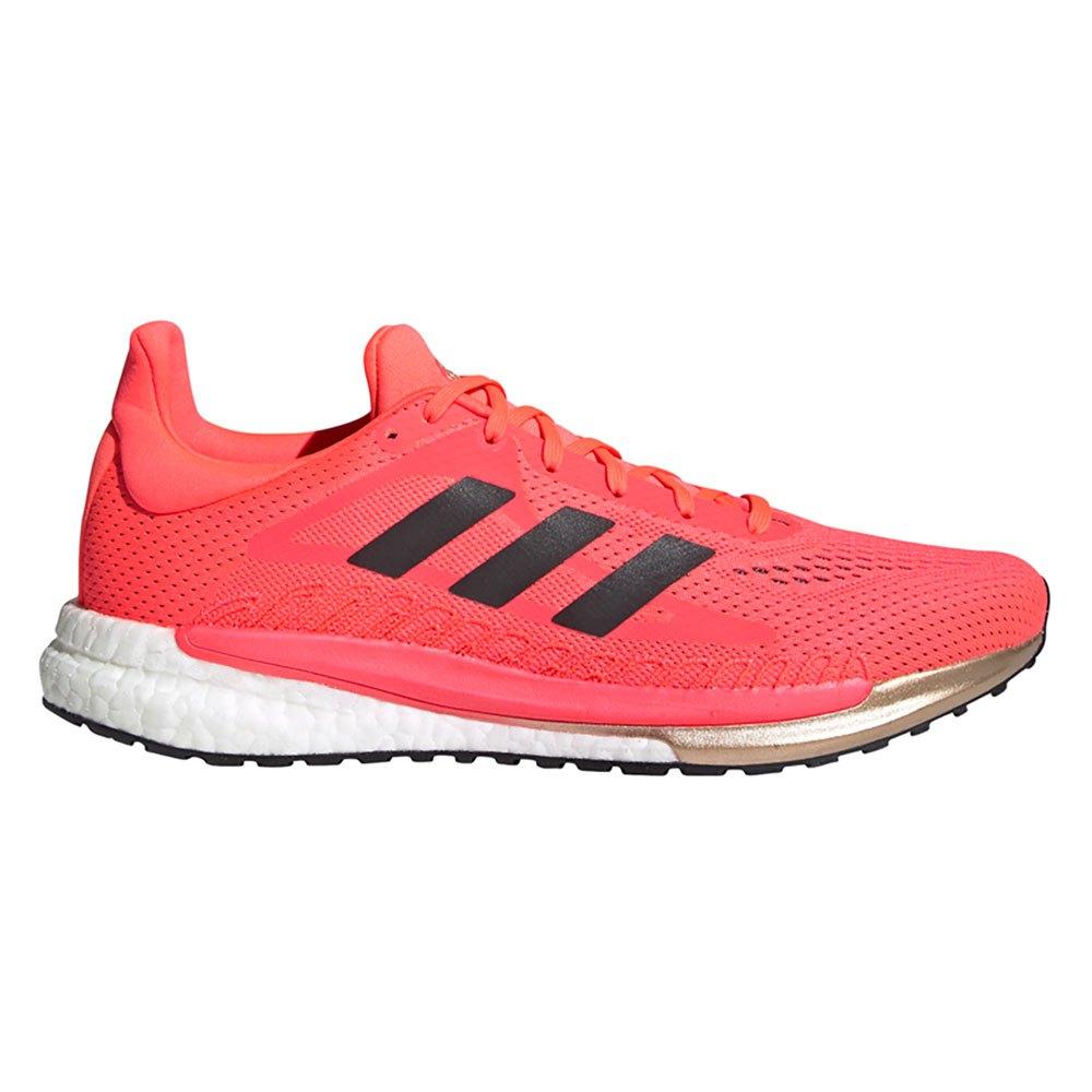 Adidas Solar Glide 3 EU 44 2/3 Signal Pink / Core Black / Copper Metalic