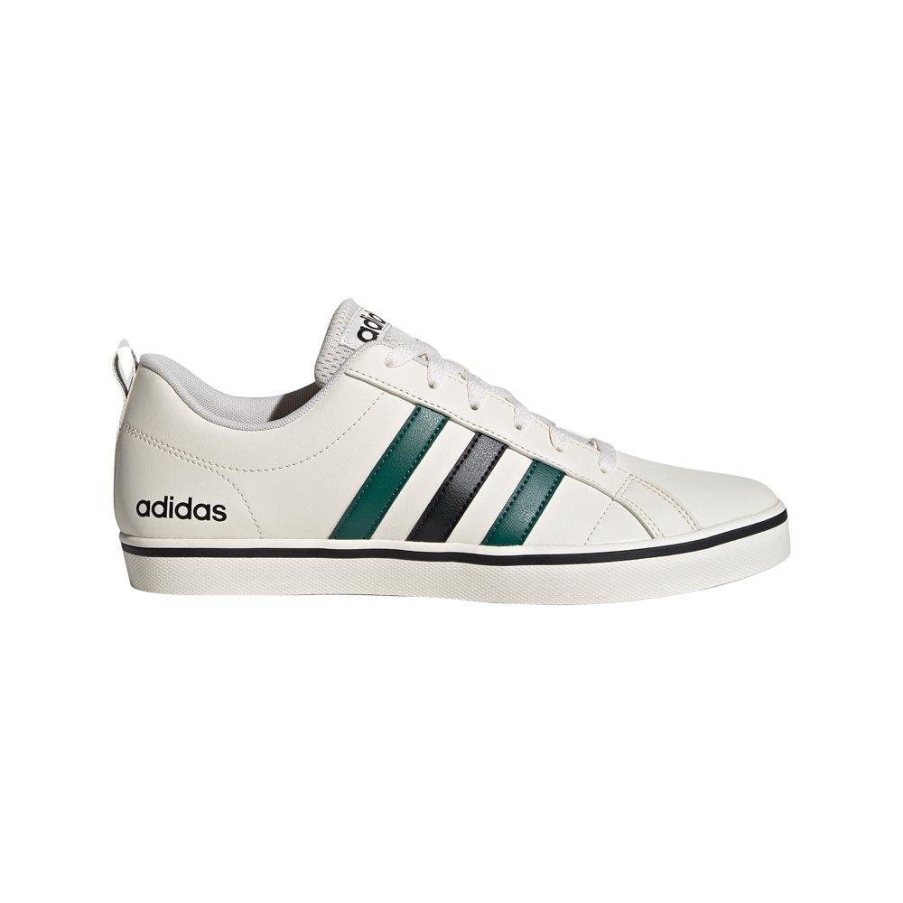 Adidas Vs Pace EU 40 Chalk White / Core Black / Collegiate Green