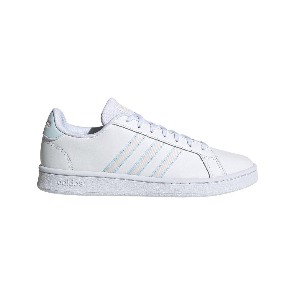 Adidas Grand Court EU 38 Ftwr White / Sky Tint / Pink Tint