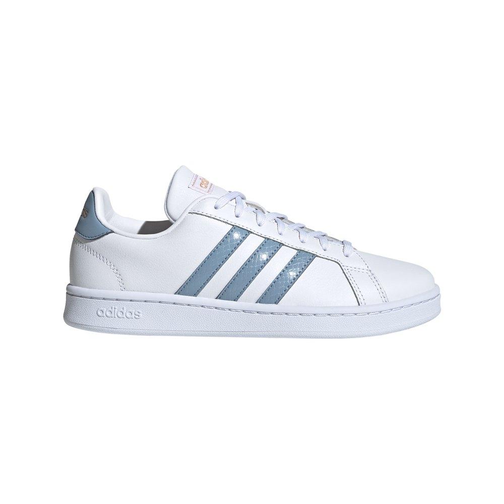 Adidas Grand Court EU 37 1/3 Ftwr White / Tactile Blue / Copper Metalic