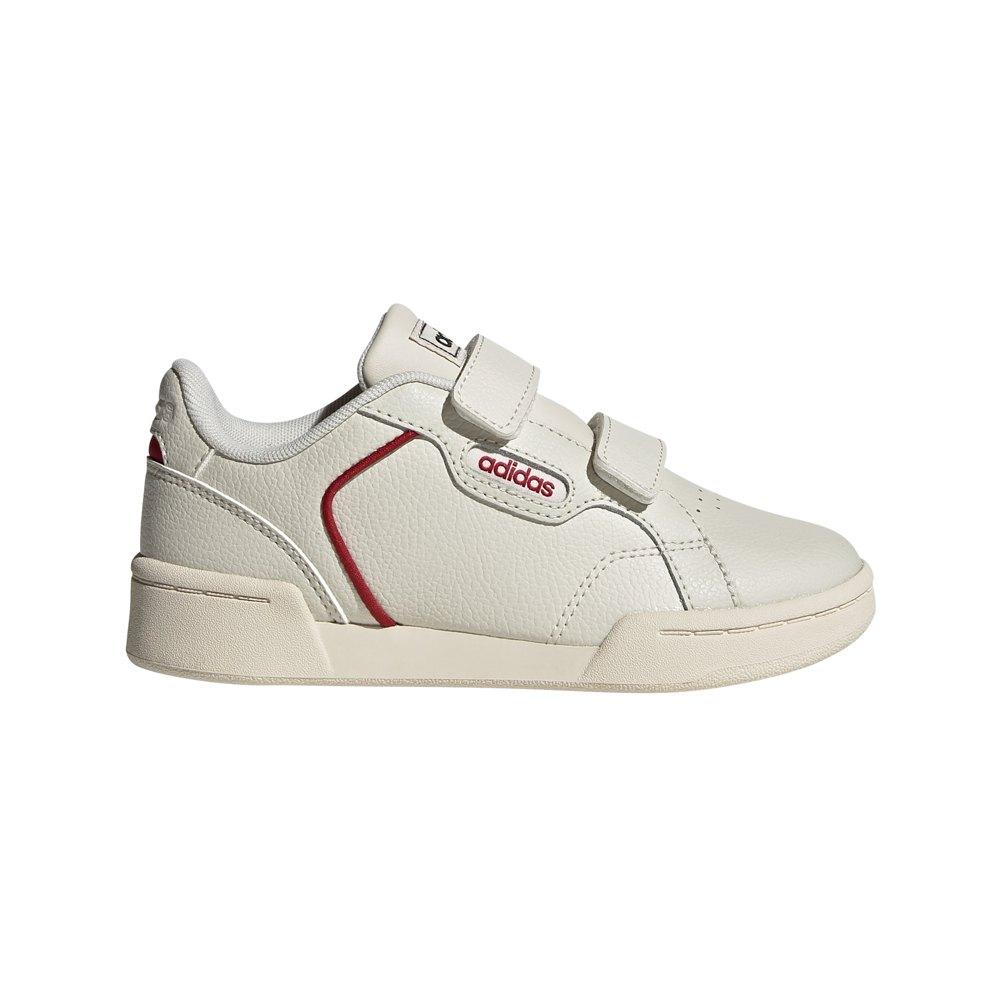 Adidas Roguera C EU 31 Raw White / Raw White / Active Maroon