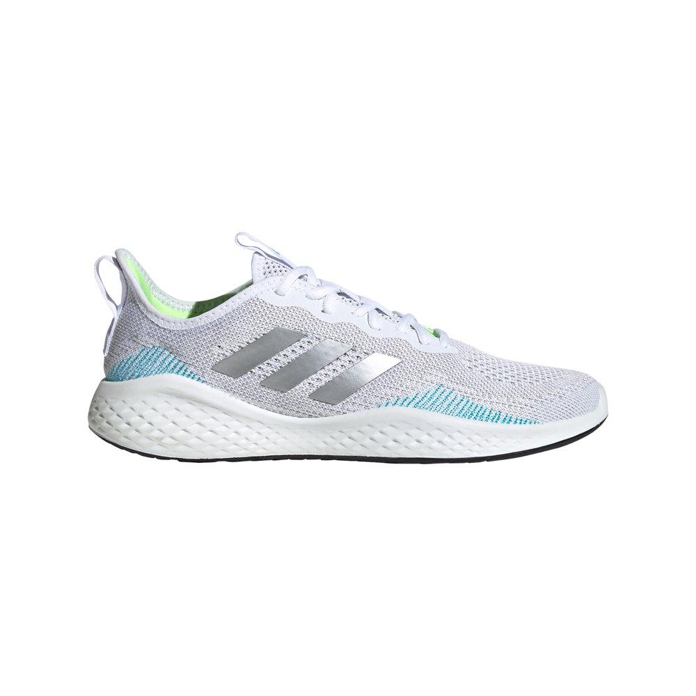 Adidas Fluidflow EU 46 Ftwr White / Matte Silver / Glory Grey
