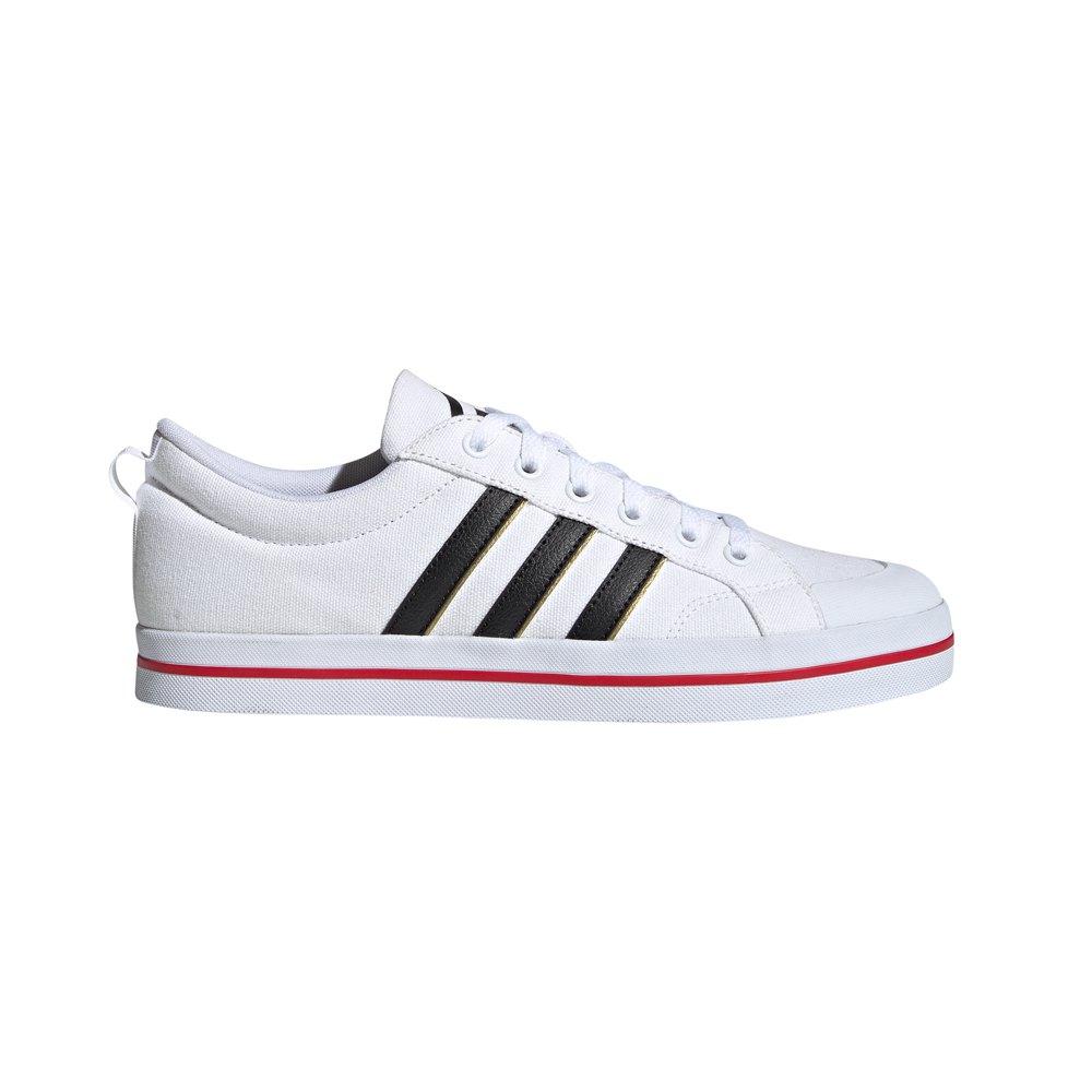 Adidas Bravada EU 46 Ftwr White / Core Black / Scarlet