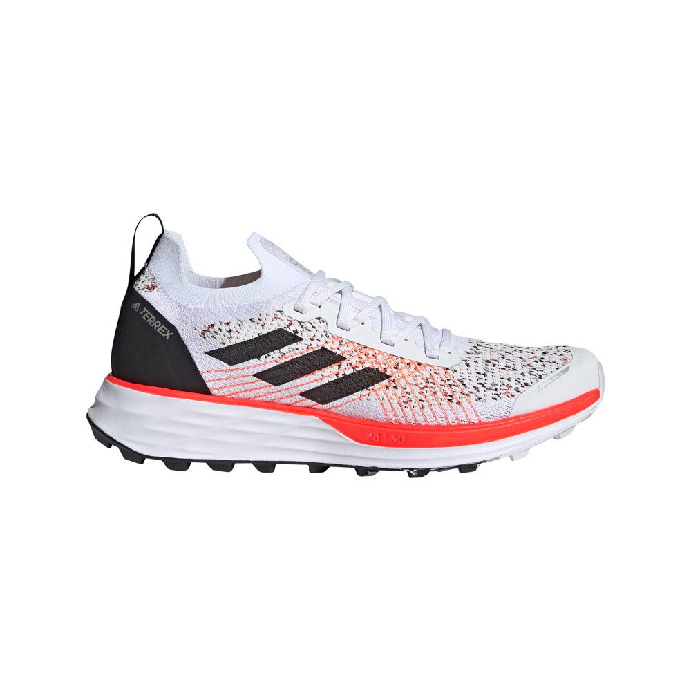 Adidas Terrex Two Parley EU 42 Crystal White / Core Black / Solar Red