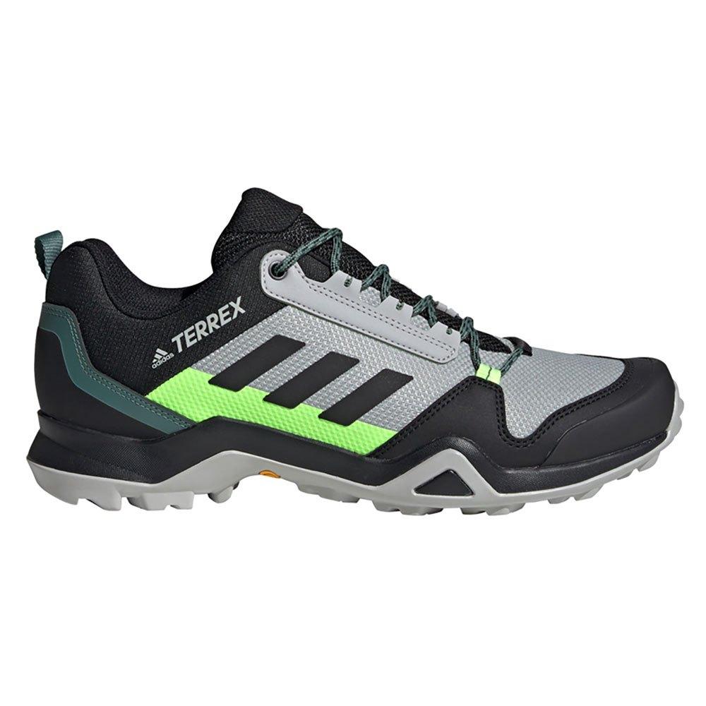 Adidas Terrex Ax3 EU 46 2/3 Grey Two / Core Black / Signal Green