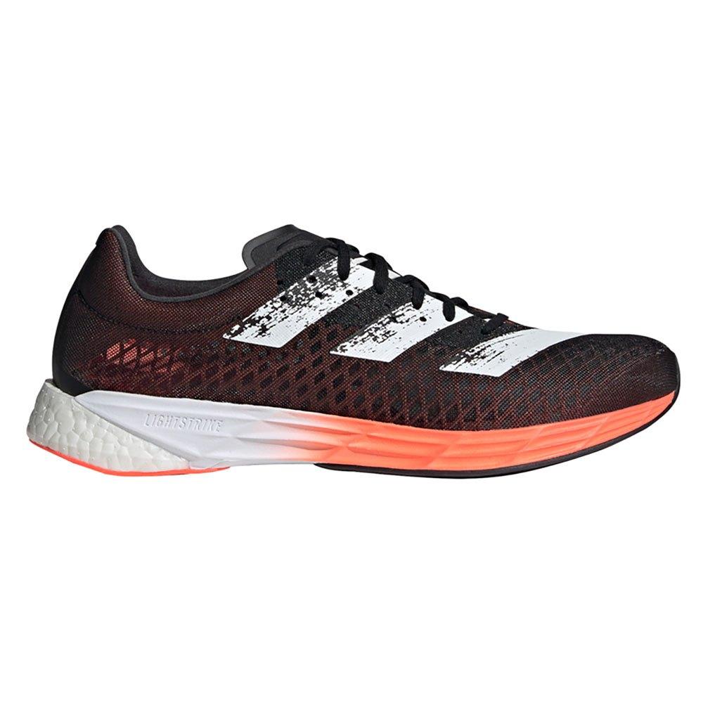Adidas Adizero Pro EU 46 Core Black / Ftwr White / Signal Coral