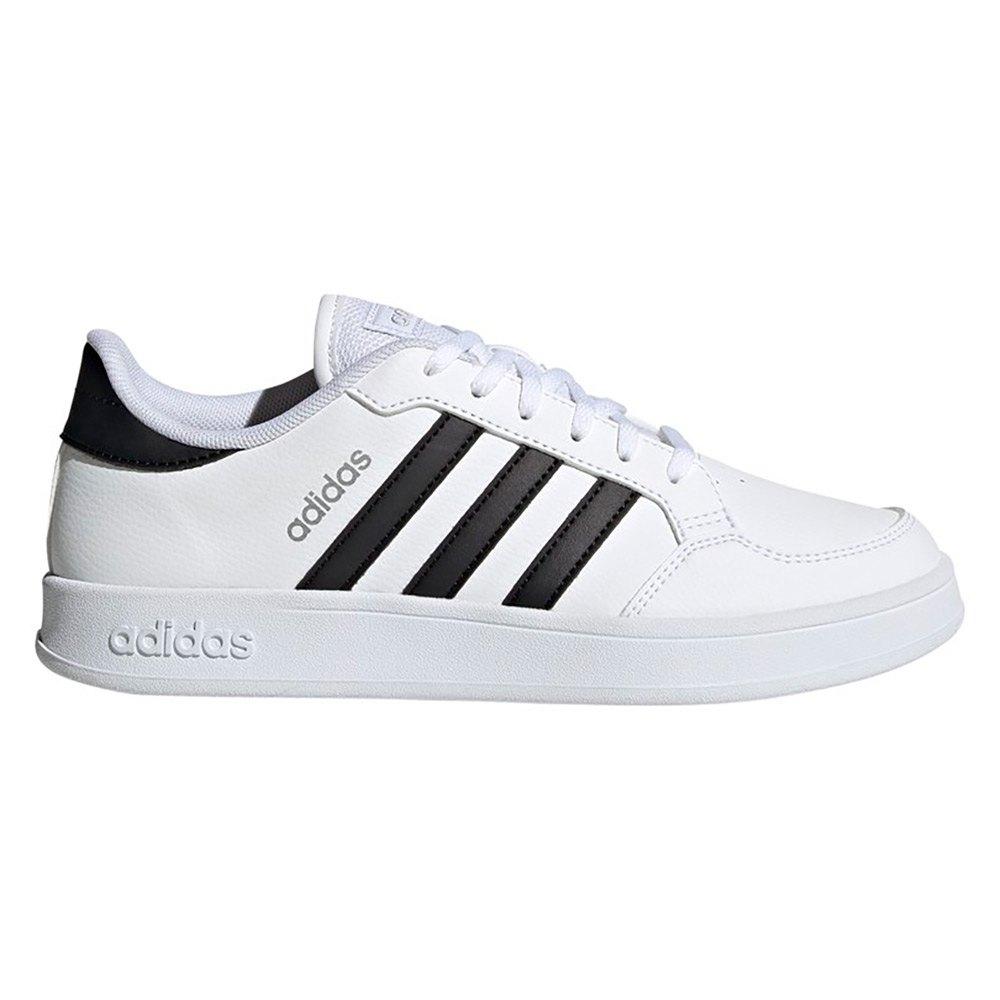 Adidas Breaknet EU 39 1/3 Ftwr White / Core Black / Silver Metalic