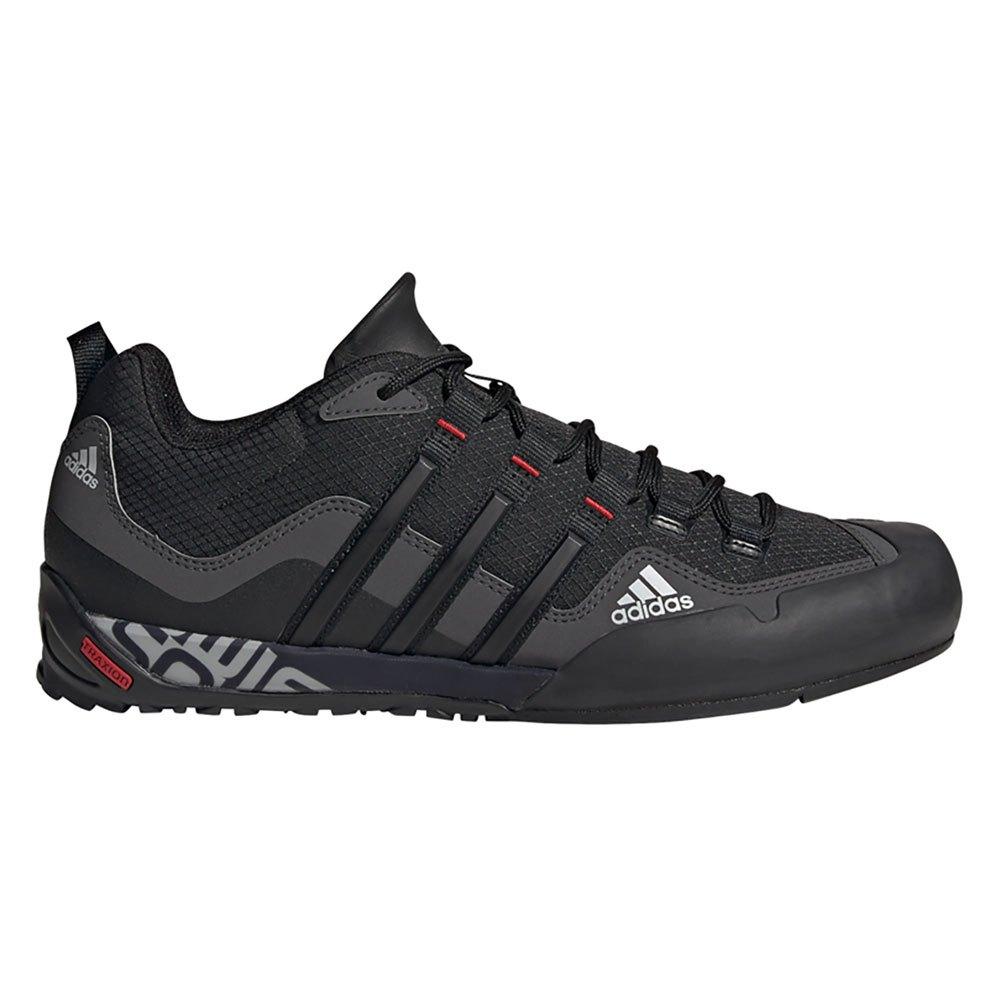 Adidas Zapatillas Senderismo Terrex Swift Solo Grey Six / Core Black / Scarlet