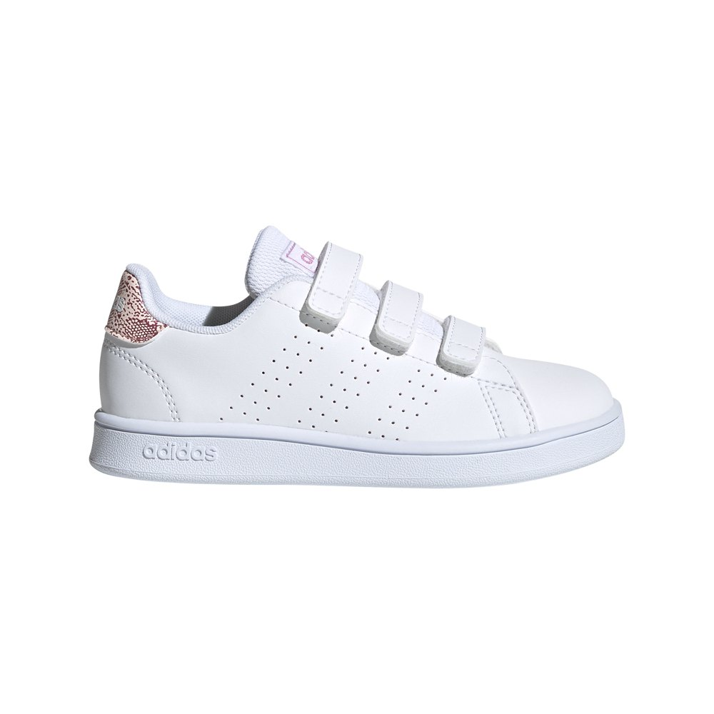 Adidas Advantage Child EU 31 Ftwr White / Ftwr White / Pink Tint
