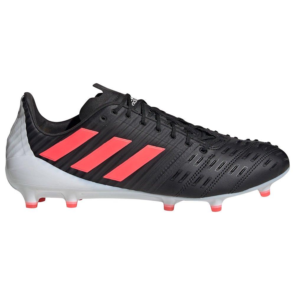 Adidas Chaussures Rugby Predatoralice Control Fg EU 43 1/3 Core Black / Signal Pink / Crystal White