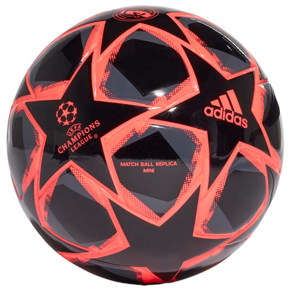 Adidas Finale 20 Real Madrid Mini Football Ball 1 Black / Signal Pink / Grey Six