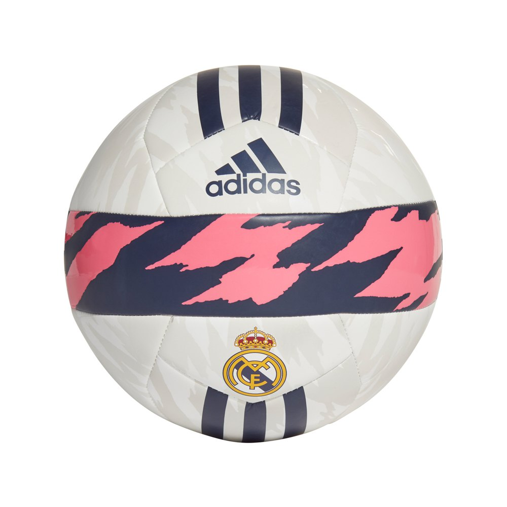 Adidas Real Madrid Club Football Ball 5 White / Spring Pink / Dark Blue
