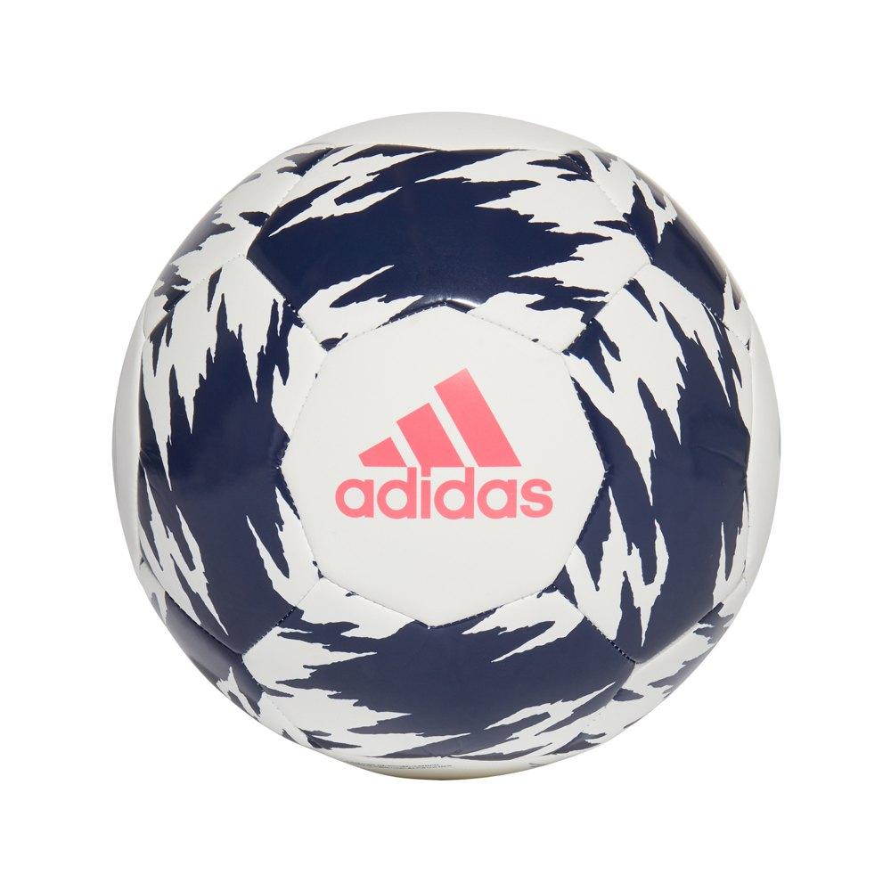 Adidas Ballon Football Real Madrid Club 5 White / Dark Blue / Spring Pink