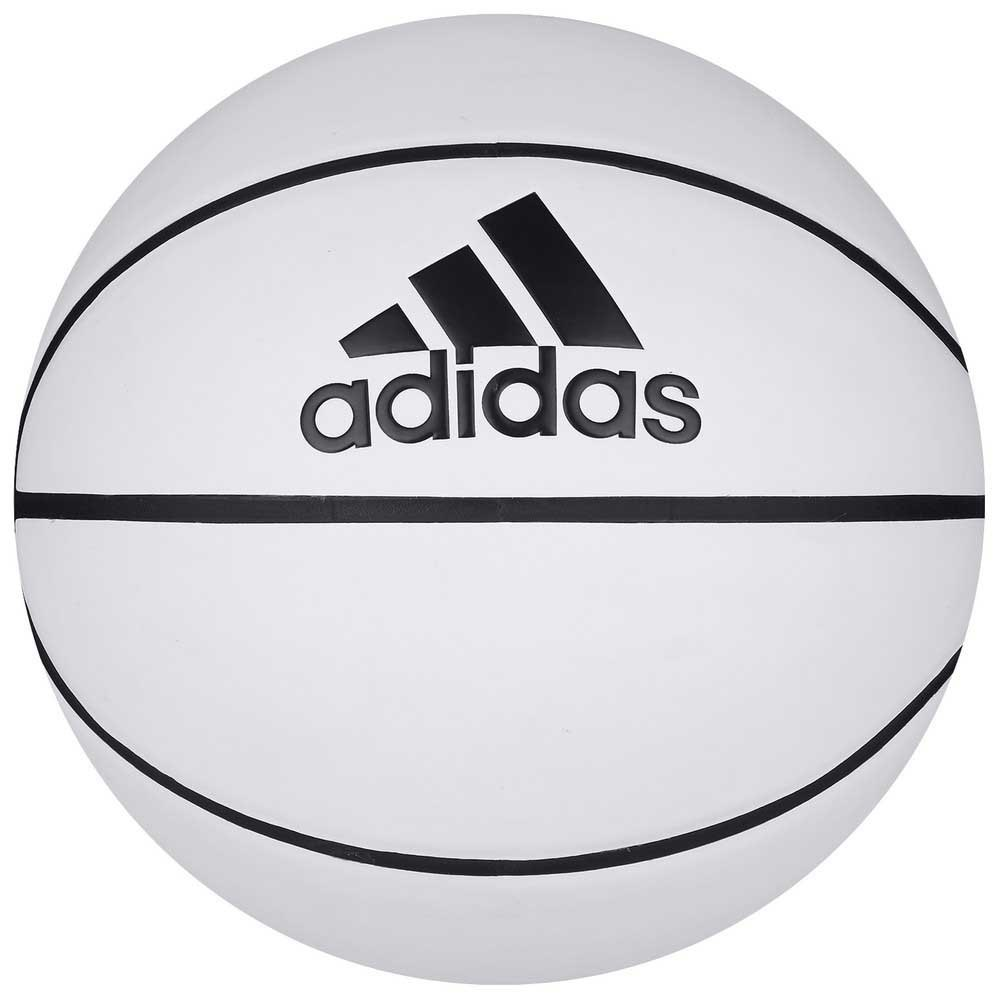 Adidas Blank Auto Football Ball 7 White / Basketball Natural