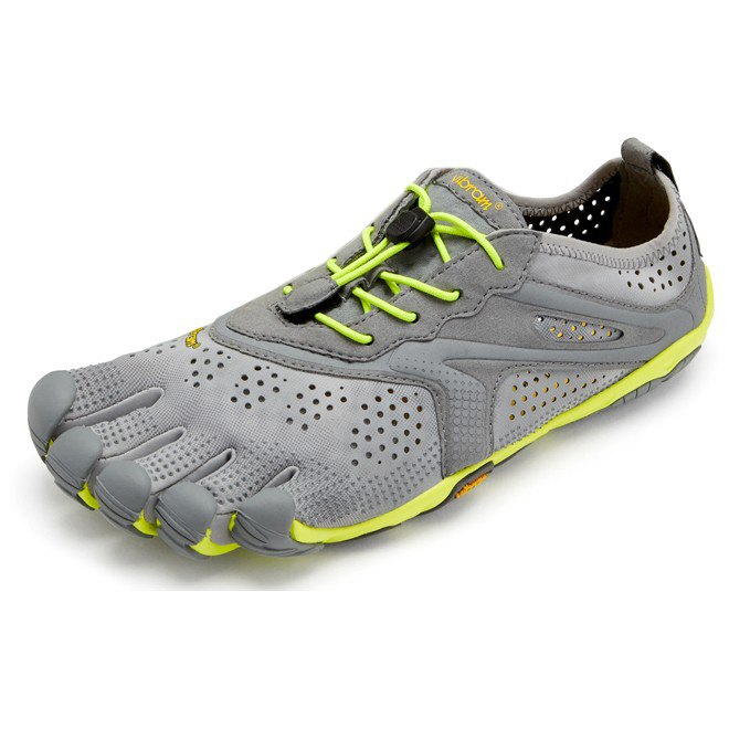 Vibram Fivefingers V-run EU 42 Grey / Yellow