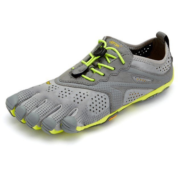 Vibram Fivefingers V-run EU 37 Grey / Yellow