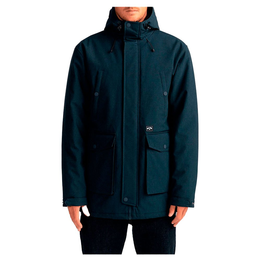 Billabong Alves Parka S Navy Heather