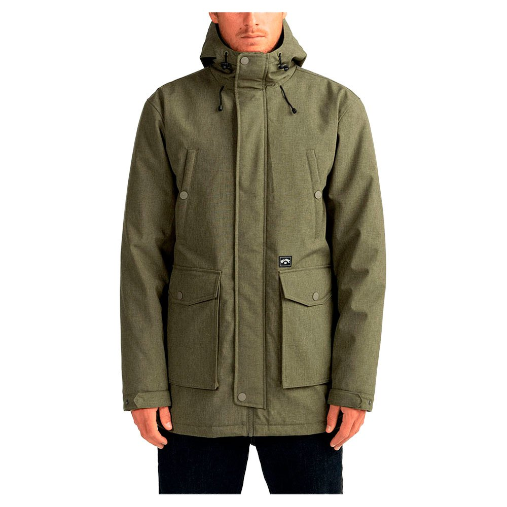 Billabong Alves Parka XL Military Heathe