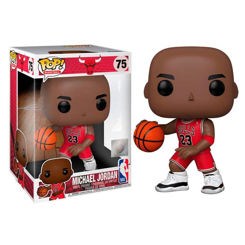 Funko Chiffre Nba Bulls Michael Jordan Maillot Rouge 25 Cm One Size Multicolor