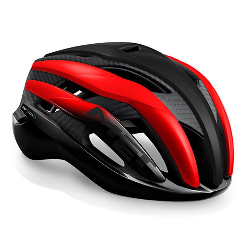 Met Trenta 3k Carbon S Black / Red Metal Glossy