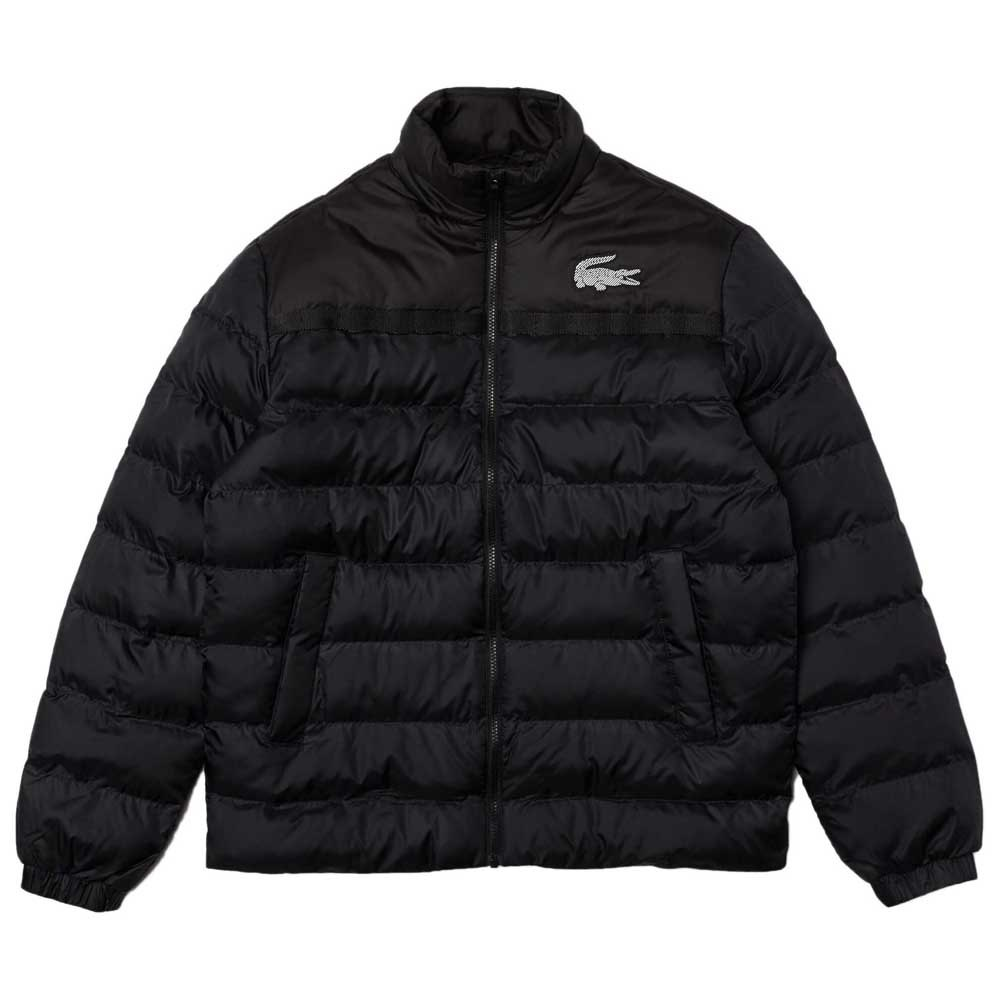 Lacoste Sport Two Tone Quilted 50 Dark Graphite / Black