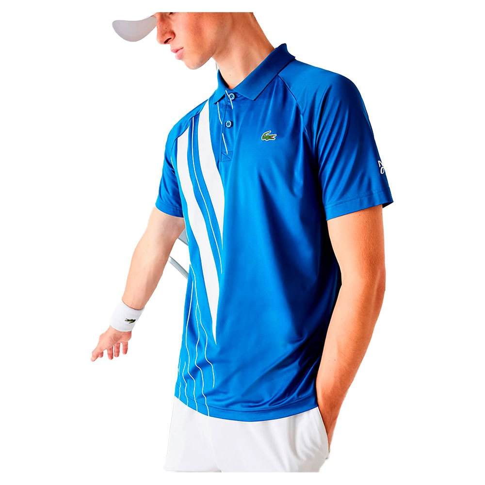 Lacoste Sport Djokovic Stretch Ribbed S Marina / White