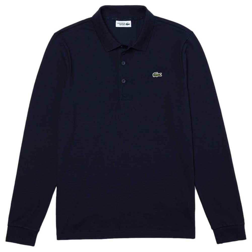 Lacoste Sport Cotton Ottoman XXXXL Navy Blue / Navy Blue