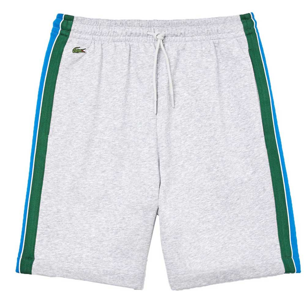 Lacoste Sport Unbrushed Cotton Blend XL Grey Chine / Navy Blue / Blue