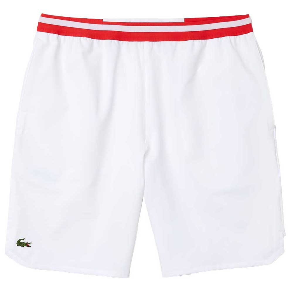 Lacoste Sport Contrast Stretch Taffeta XS White / Red