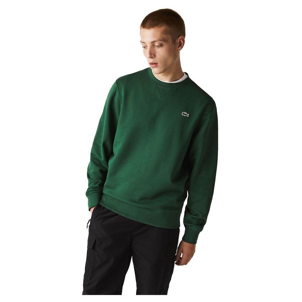 Lacoste Sweatshirt Sport Cotton Blend XS Green / Green