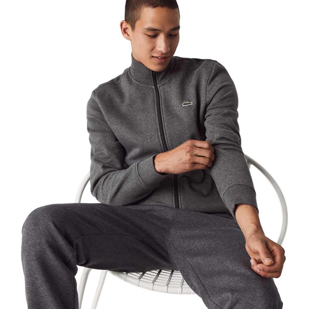 Lacoste Sport Cotton Blend XXXL Grey Chine / Graphite