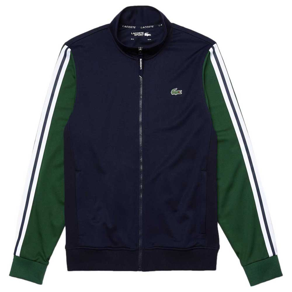 Lacoste Sport Two Tone Technical Pique S Navy Blue / Green