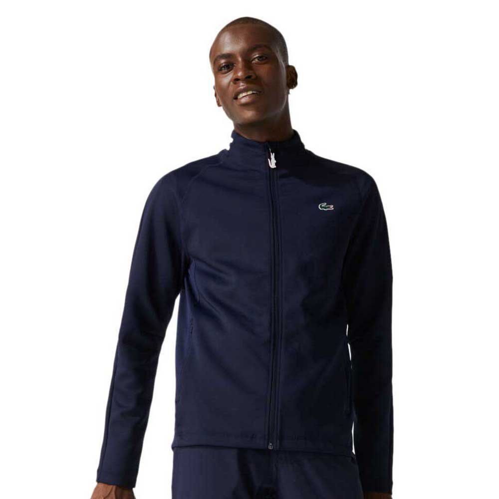 Lacoste Sport Ergonomic Stretch Golf S Navy Blue / Navy Blue / White