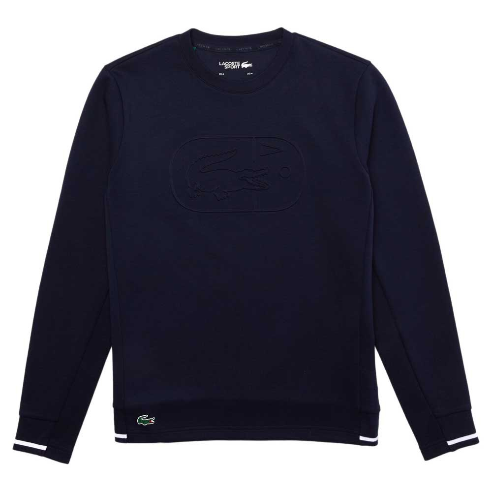 Lacoste Sport Two Ply Crew Cotton Blend XL Navy Blue