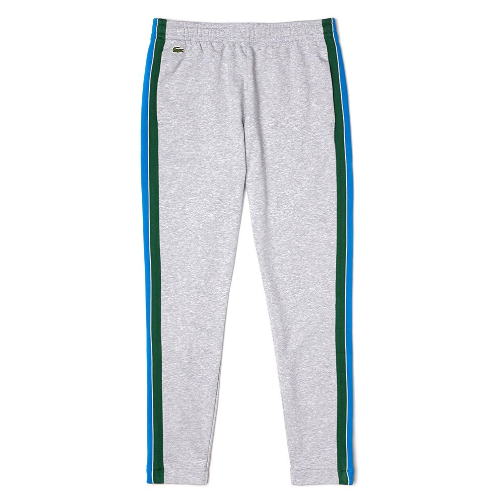 Lacoste Sport Contrast Band Cotton Jogging M Grey Chine / Green / Blue