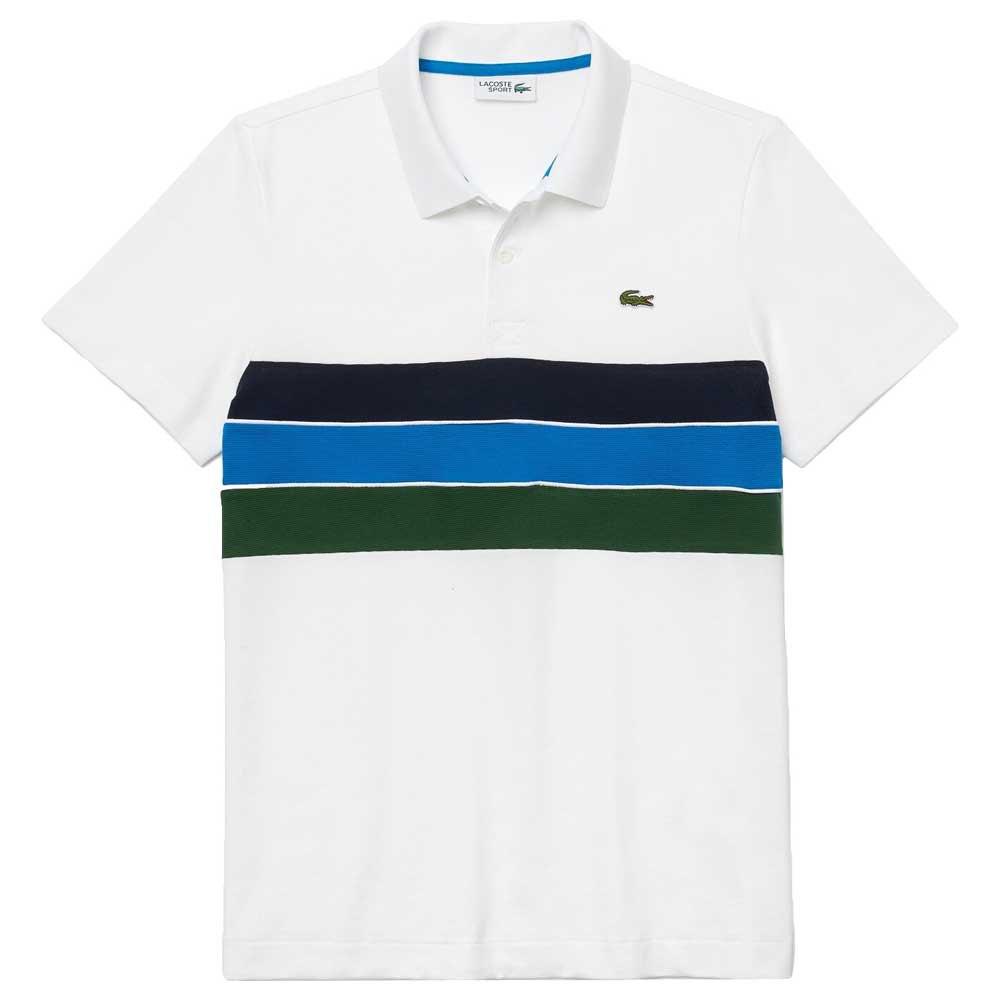 Lacoste Sport Lightweight Cotton XL White / Green / Blue / Ma