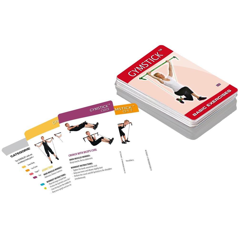 Gymstick Exercise Cards - Basic Pack One Size Black