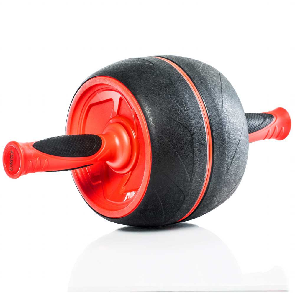 Gymstick Jumbo Ab Roller One Size Black / Red