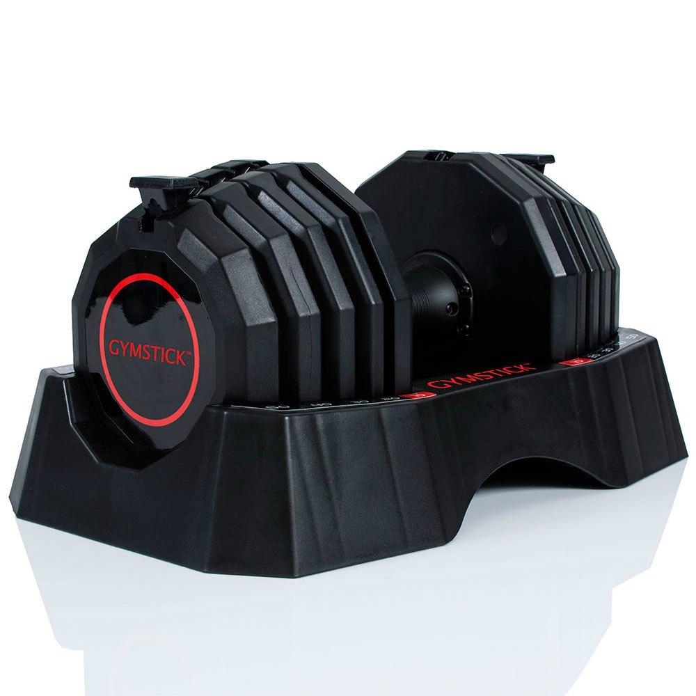 Gymstick Quick-lock Dumbbell 22.5 Kg 22.5 Kg Black