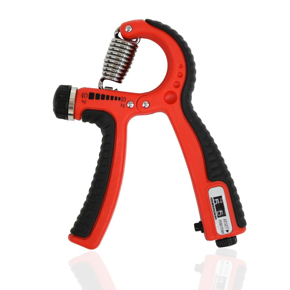 Gymstick Adjustable Hand Grip With Counter One Size Red / Black